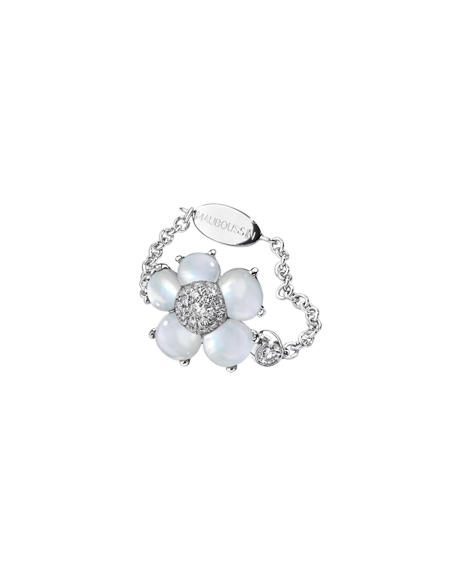 bague or blanc diamant vente privee