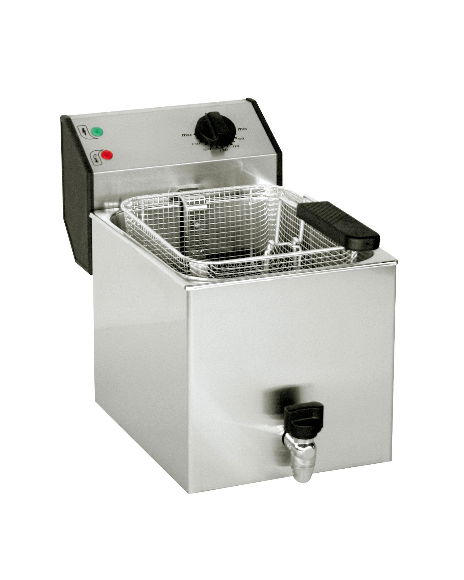 Friteuse 8l avec robinet de vidange friteuses frifri roller grill frifri roller grill - Friteuse sans huile professionnelle roller grill ...